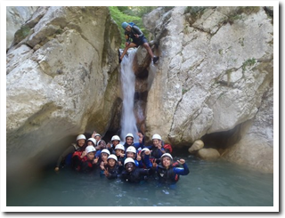 canyoning collectivites